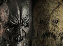 Hot Toys MMS 140 Batman Begins - Batman Demon & Scarecrow