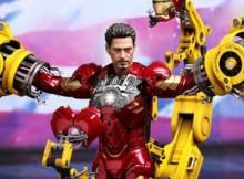 Hot Toys MMS 160 Iron Man 2 - Suit-Up Gantry w/ Mark IV