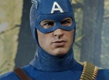 Hot Toys MMS 205 Captain America : First Avenger - Star Spangled Version
