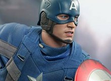 Hot Toys MMS 240 Captain America: TWS (Golden Age Version)