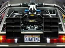 Hot Toys MMS 260 Back to the Future - DeLorean