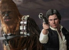 Hot Toys MMS 263 Star Wars IV - Hans Solo & Chewbacca