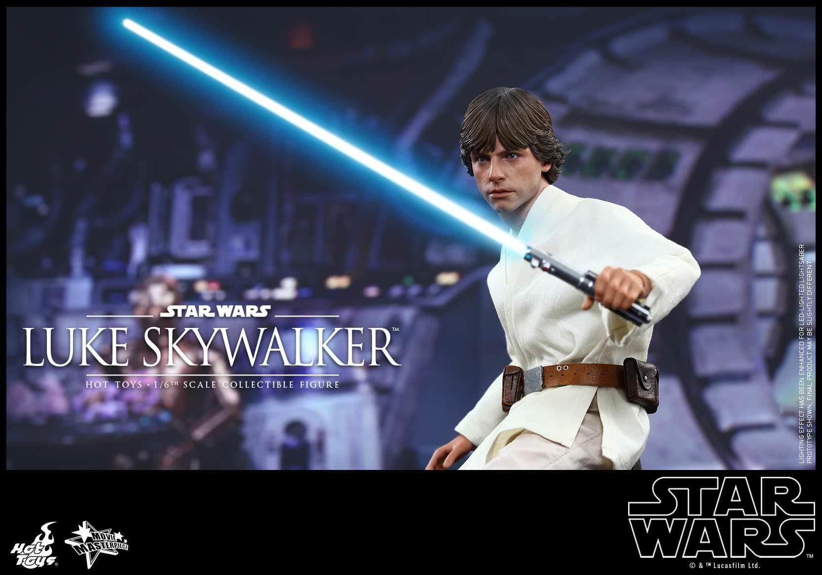 hot toys MMS297 Star Wars Luke Skywalker A New Hope 1//6 droid caller