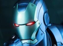 Hot Toys MMS 314 D12 Iron Man Mark III (Stealth Mode Version)