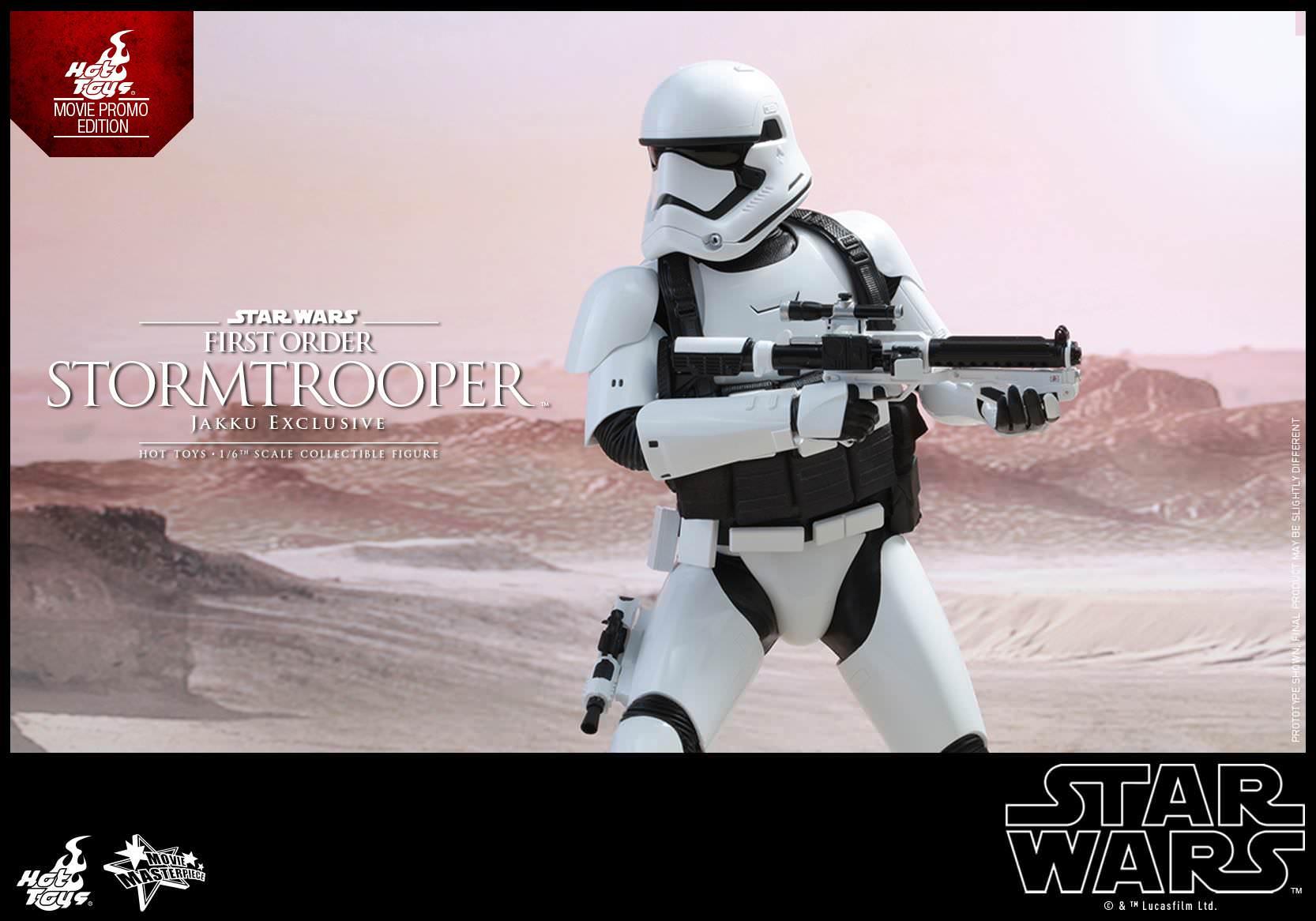 NUOVO jakku esclusiva Toys MMS 333 Hot Guerre Stellari primo ordine Stormtrooper