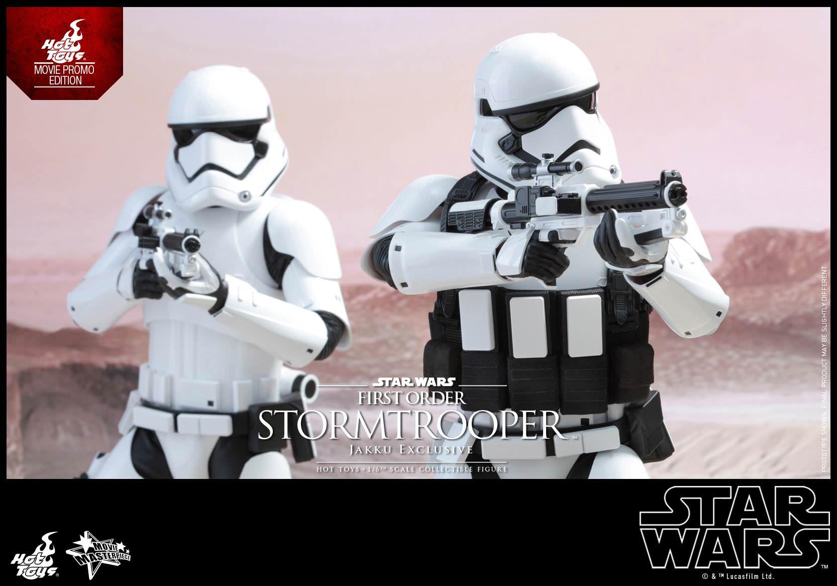 NEW Jakku Exclusive Hot Toys MMS 333 Star Wars First Order Stormtrooper