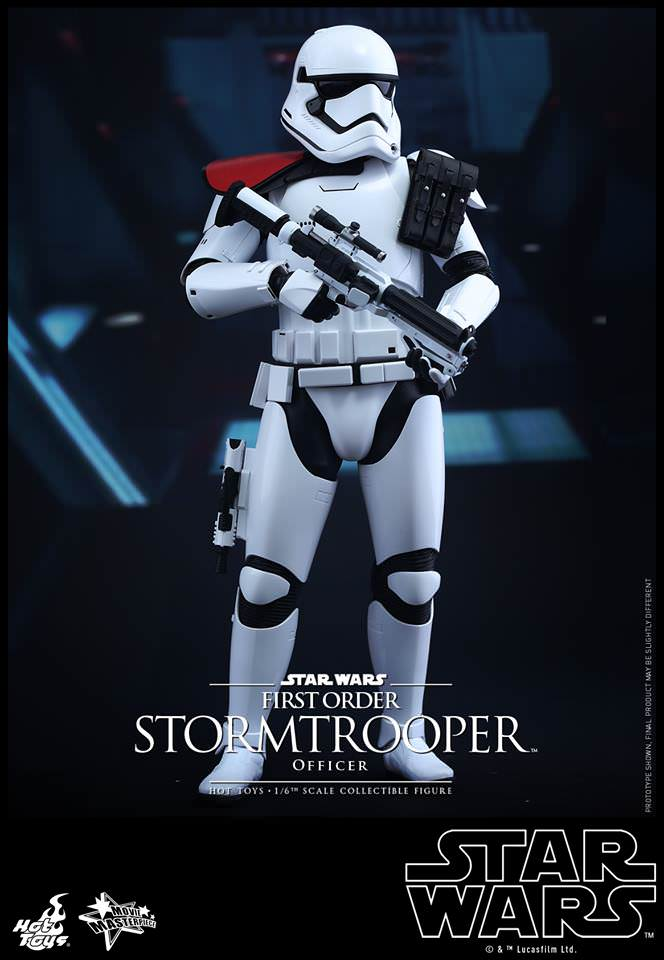 Hot Toys Movie Masterpiece Series Sixth Scale First Order Stormtrooper