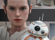 Hot Toys MMS 337 Star Wars : TFA - Rey & BB-8