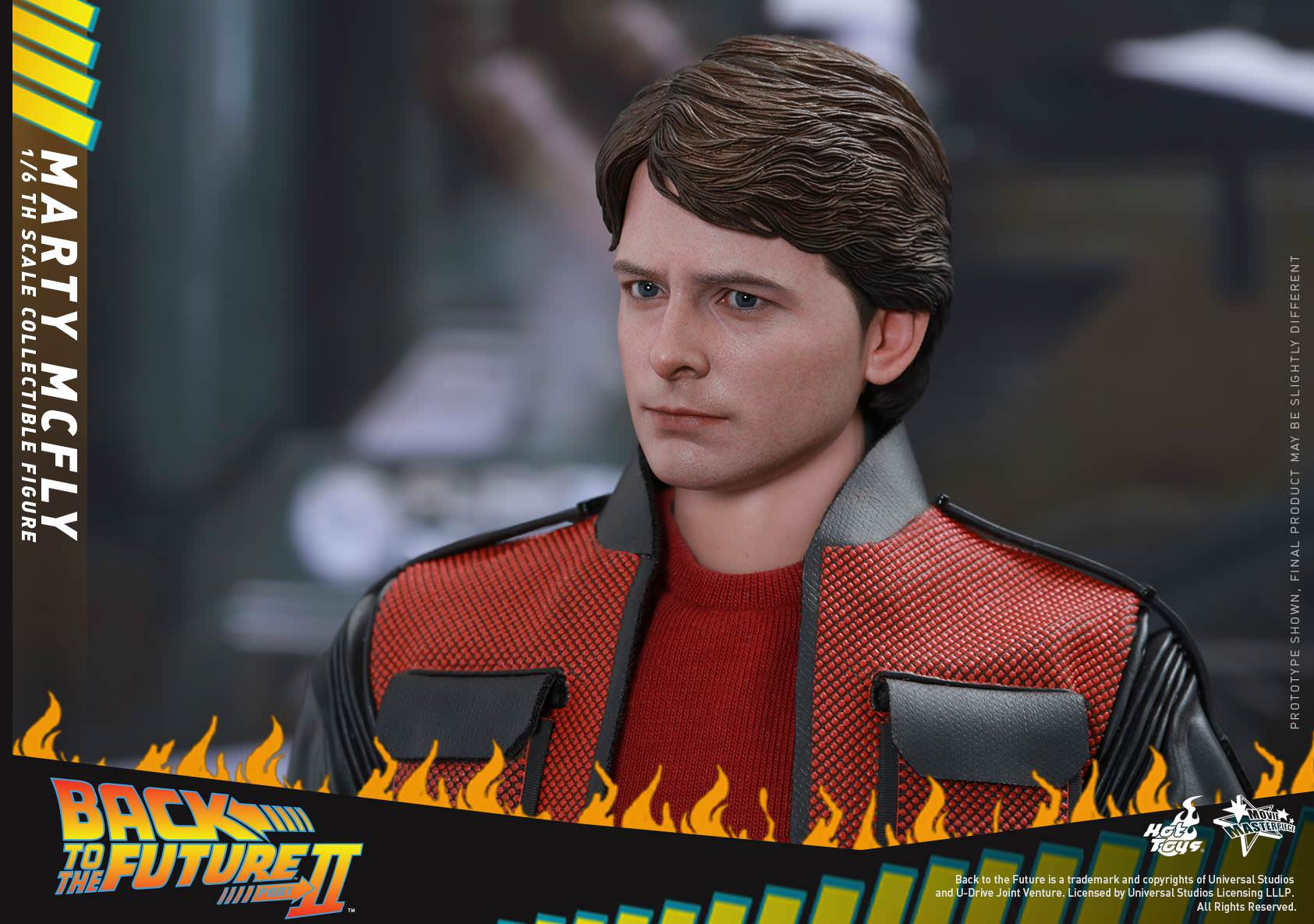 Hot Toys MMS379 Back to The Future Part II MARTY MCFLY Figure 1//6th Scale HANDS