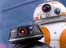 Hot Toys MMS 440 441 442 Star Wars : TLJ - BB-8 & BB-9E