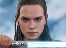 Star Wars The Last Jedi Rey Training Version Sixth Scale Figure
