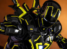 Iron Man 2 Neon Tech 2.0 One Sixth Scale
