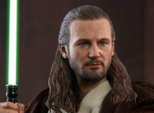 Star Wars I Phantom Menace Qui Gon Jinn Sixth Scale Figure