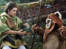 Star Wars : ROTJ - Princess Leia & Wicket Sixth Scale Figure