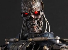 Hot Toys MMS 97 Terminator : Salvation - Endoskeleton T-600 (Martin Laing Signature)