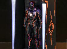 Marvel Neon Tech Iron Man 4.0 Hall of Armor