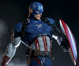 Captain America Marvel Premium Format(TM) Figure