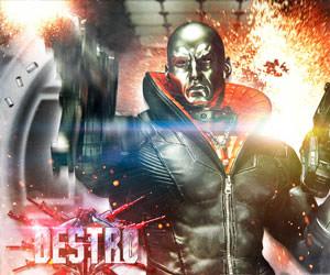 Destro G.I. Joe Statue