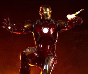 Iron Man Mark VII Maquette Marvel Statue