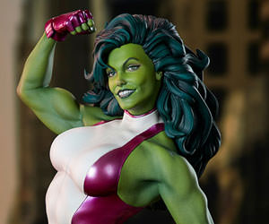 She-Hulk Marvel Statue