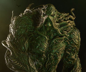 Swamp Thing DC Comics Maquette