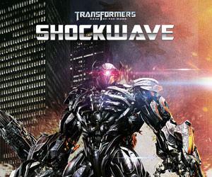 Shockwave Transformers Statue
