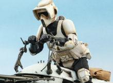 Star Wars The Mandalorian Scout Trooper Sixth Scale Figure