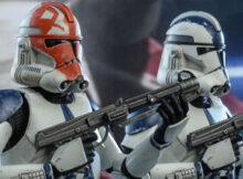 Star Wars The Clone Wars 501st Battalion Clone Trooper Sixth Scale Figure