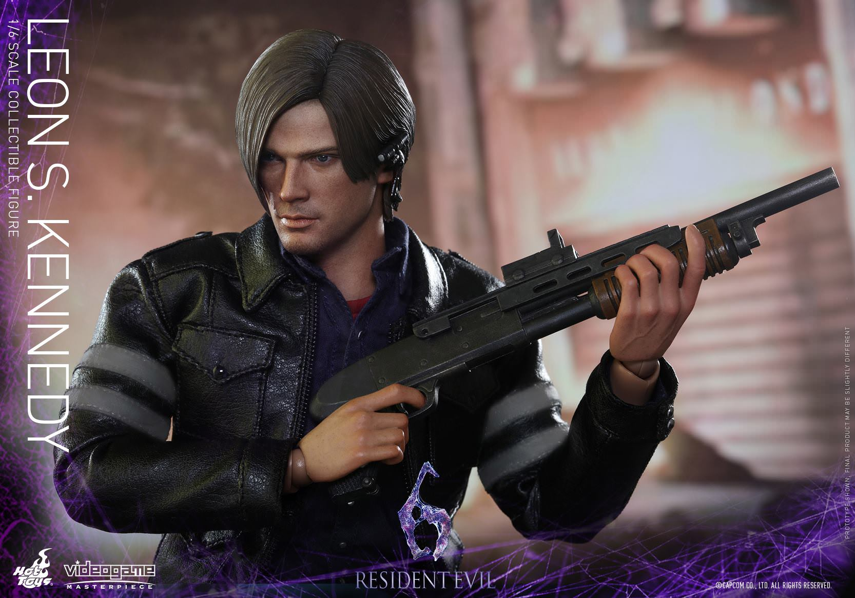 Action Figures 1 6 Scale Hot Toys Vgm22 Leon S Kennedy