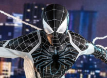 Spider-Man Negative Suit One Sixth Scale